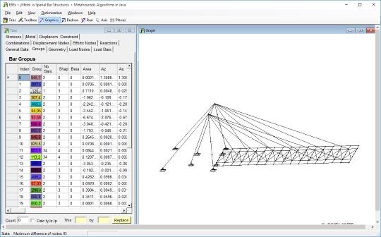 EBEs 1.0: Software de análise de estruturas espaciais