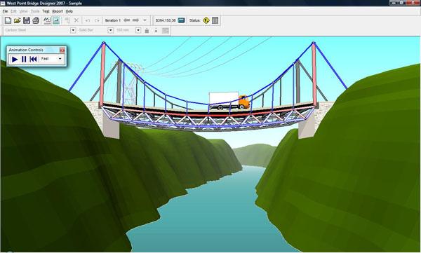 west point bridge designer 2010