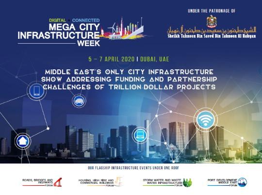 Semana das Infraestruturas em Mega Cidades 2020