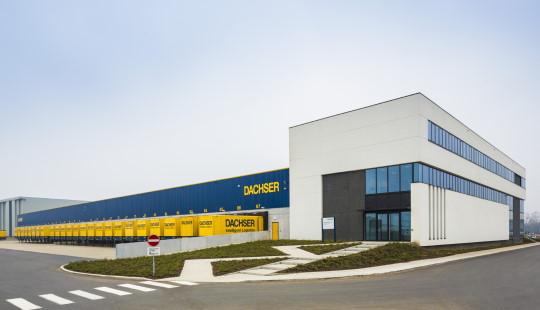 Dachser constrói novo centro logístico em Antuérpia