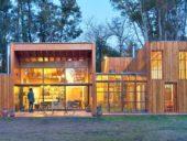 Imagem do dia: Uma casa de madeira ultra-eficiente do ponto de vista térmico