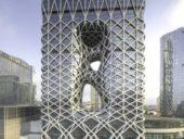 Imagem do dia: Conclusão da construção do incrível edifício do Hotel Morpheus em Macau