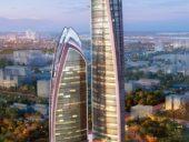 Imagem do dia: Avança construção do edifício mais alto de África