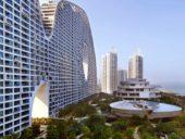 Imagem do dia: Concluída na China a construção da 1ª fase do incrível edifício Montanhas Falsas