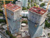 Imagem do dia: Concluída construção dos inovadores edifícios residenciais de Coconut Grove