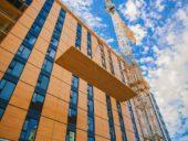 Imagem do dia: Concluída a construção da estrutura do edifício residencial de madeira mais alto do mundo