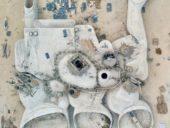Imagem do dia: Construção do Museu das Dunas em Pequim
