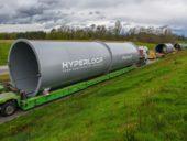Imagem do dia: Arranca construção de trecho de teste do sistema Hyperloop em França