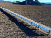 Imagem do dia: Construção da primeira via à escala real do sistema Hyperloop
