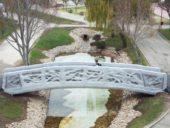 Imagem do dia: Construída primeira ponte pedonal do mundo através de impressão 3D