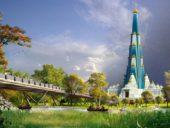 Imagem do dia: Índia está a construir o edifício religioso mais alto do mundo