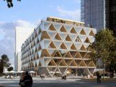 Imagem do dia: Primeiro edifício de construção mista betão-madeira em Dusseldorf