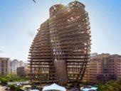 Imagem do dia: Edifício ecológico será capaz de absorver 130 toneladas de dióxido de carbono por ano