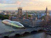 Imagem do dia: Edifício flutuante terá 240 metros de comprimento e albergará Parlamento Britânico