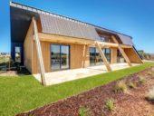 Imagem do dia: Um edifício de habitação que produz mais energia do que a que gasta