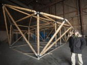 Engenheiro Civil norte-americano cria estruturas em bambu resistentes a sismos