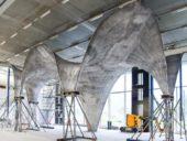 Imagem do dia: Engenheiros suíços criam estrutura ultrafina de betão armado com células fotovoltaicas integradas