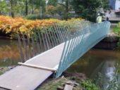 Imagem do dia: Holandeses constroem ponte feita de Cannabis