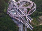 Imagem do dia: A intrincada interseção rodoviária de Hisashimichi no Japão