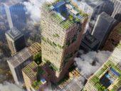 Imagem do dia: Japão vai construir arranha-céus de madeira com 350 metros de altura