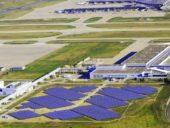 Imagem do dia: O maior aeroporto solar do mundo
