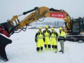 Maiores escavadoras elétricas do mundo entram em operação em obras na Europa