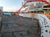Imagem do dia: Uma das maiores operações de betonagem de sempre nos EUA