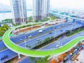 Imagem do dia: Mais longa passagem superior do mundo para bicicletas construída na China