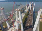Imagem do dia: Abre ao tráfego a mais longa ponte de Nova Iorque