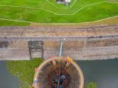 Imagem do dia: Engenheiros holandeses criam técnica construtiva com betão flexível que endurece in-situ