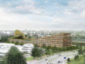 Imagem do dia: Montanha de Veldhoven será o maior edifício de madeira do mundo
