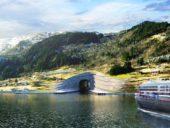 Imagem do dia: Noruega vai construir o primeiro túnel do mundo para navios