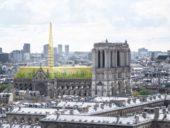 Imagem do dia: Novo projeto prevê transformação de cobertura da Catedral de Notre Dame em estufa