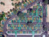 Imagem do dia: Um parque de estacionamento que desafia as noções tradicionais de tipologia