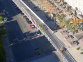 Imagem do dia: Uma ponte pedonal inspirada no mecanismo de formação das ondas do mar