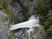 Ponte Schaufelschlucht na Áustria