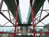 Imagem do dia: EUA constroem primeiro viaduto do mundo com pilares ultra-flexíveis