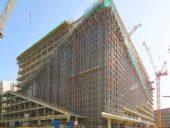 Imagem do dia: Progresso da construção do Edifício sede da Axel Springer em Berlim