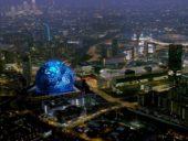 Imagem do dia: Projetada massiva arena esférica para Londres