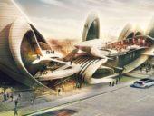 Imagem do dia: Projetado no Reino Unido edifício inspirado nas asas de insetos