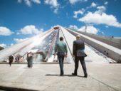 Imagem do dia: Projetistas holandeses transformam pirâmide da era Soviética em centro cultural