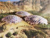 Imagem do dia: Projeto de bio cúpulas nas Montanhas Al Hajar