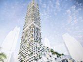 Imagem do dia: Projeto de construção do arranha-céus permeável Nhabitat