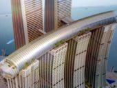 Imagem do dia: Projeto e contrução do mais alto arranha-céus horizontal do mundo