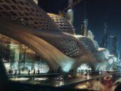 Imagem do dia: Projeto da incrível estação do Rei Abdullah