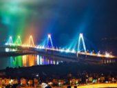 Imagem do dia: Projeto de iluminação da maior ponte suspensa do Vietname