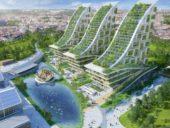 Imagem do dia: O projeto de metamorfose ecológica da Gare Marítima de Bruxelas