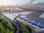 Imagem do dia: Projeto do novo terminal do Aeroporto Internacional de Newark