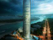 Imagem do dia: Projeto da Torre Hilton em Sharjah