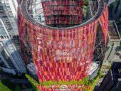 Imagem do dia: Projeto da Torre Oasia em Singapura